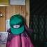 Topo Designs Snapback Hat Green lifestyle