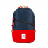 Topo Designs Standard Pack Navy/Red front