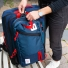 Topo Designs Travel Bag 30L Navy with Trip Pack