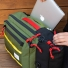 Topo Designs Travel Bag 30L Olive with laptop