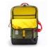 Topo Designs Travel Bag Olive half open