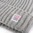Topo Designs Wool Beanie Gray detail