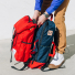 Topo Designs Y-pack Red PackFast detail