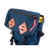 Topo Klettersack Navy/Brown Leather flap