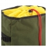Topo Klettersack 22L Olive/Black Leather topclosure