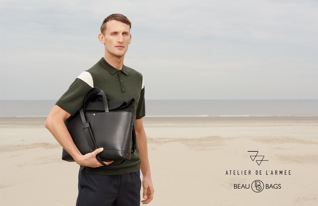 Atelier de l' Armée - Worker Briefcase - black