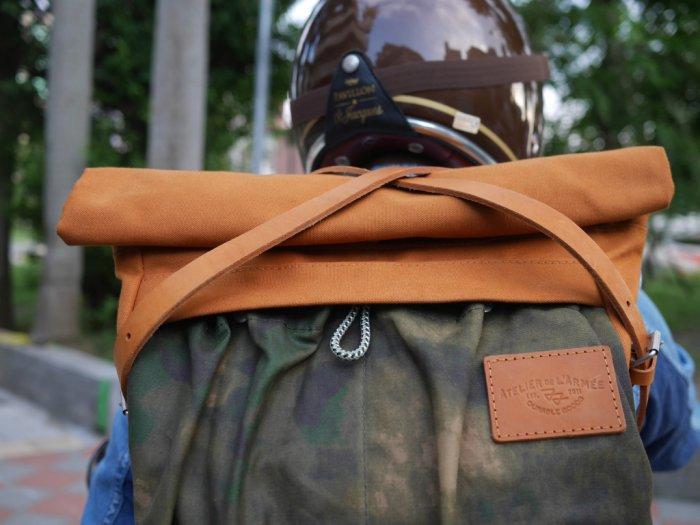 Atelier de l'Armée Flight Pack Mustard/Camouflage
