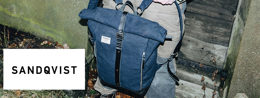 Sandqvist Backpack, waxed Collection