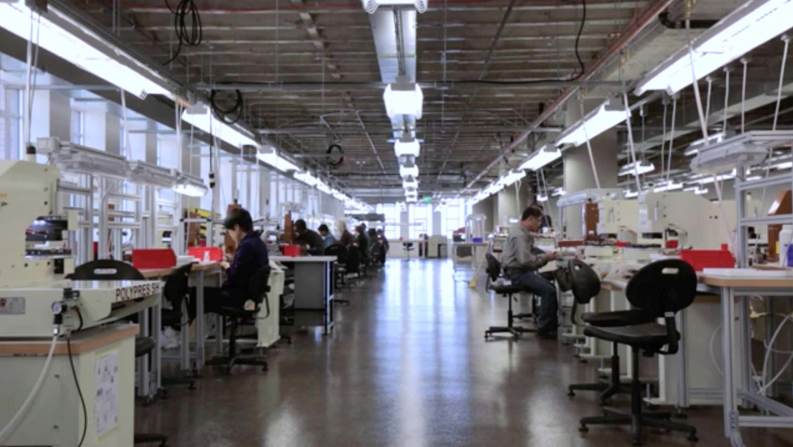 Shinola Leather Factory