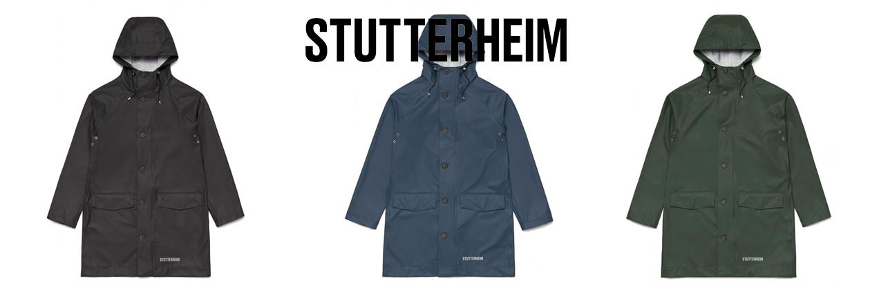 Stutterheim Raincoat Regenjas Regenjacke Ekeby