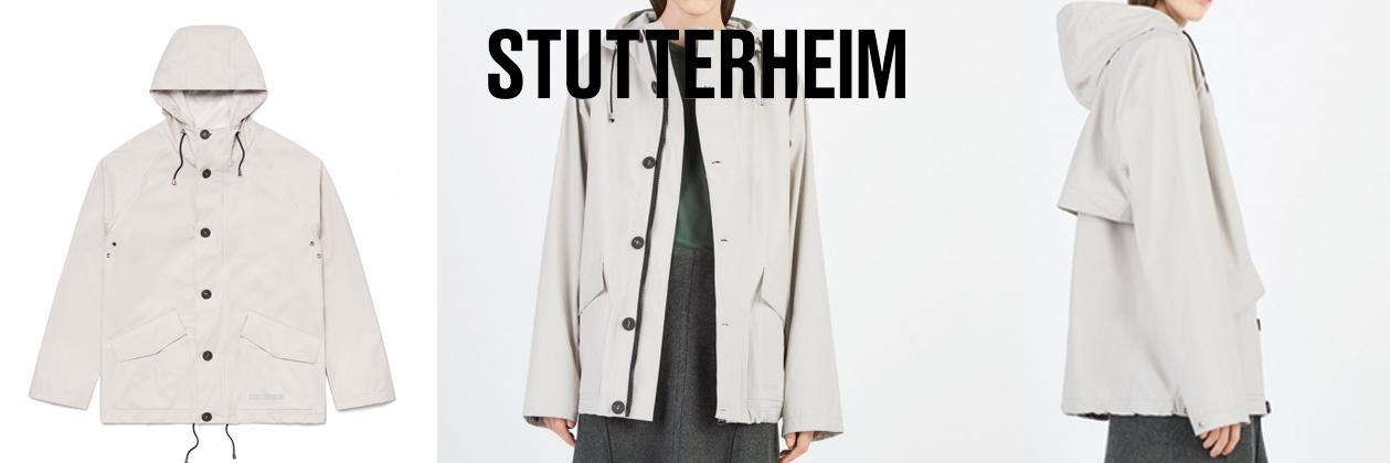 Stutterheim Regenjas Stenhamra, stijlvolle, lichtgewicht regenjas voor optimale bescherming tijdens je reis