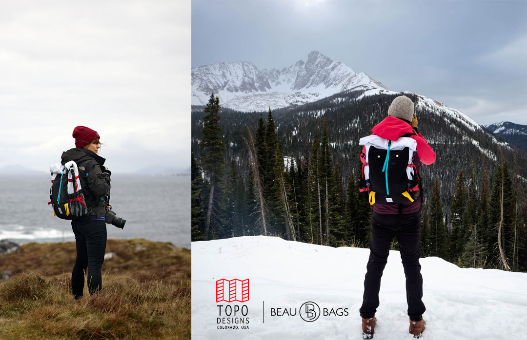 Topo Designs Rolltop Bag Forest, The every day backpack.