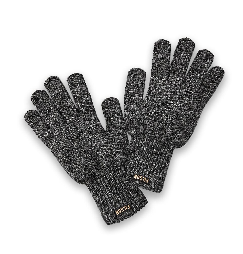 Filson Full Fingers Knit Gloves, Ragg-wollen handschoenen die isoleren wanneer ze nat of droog zijn