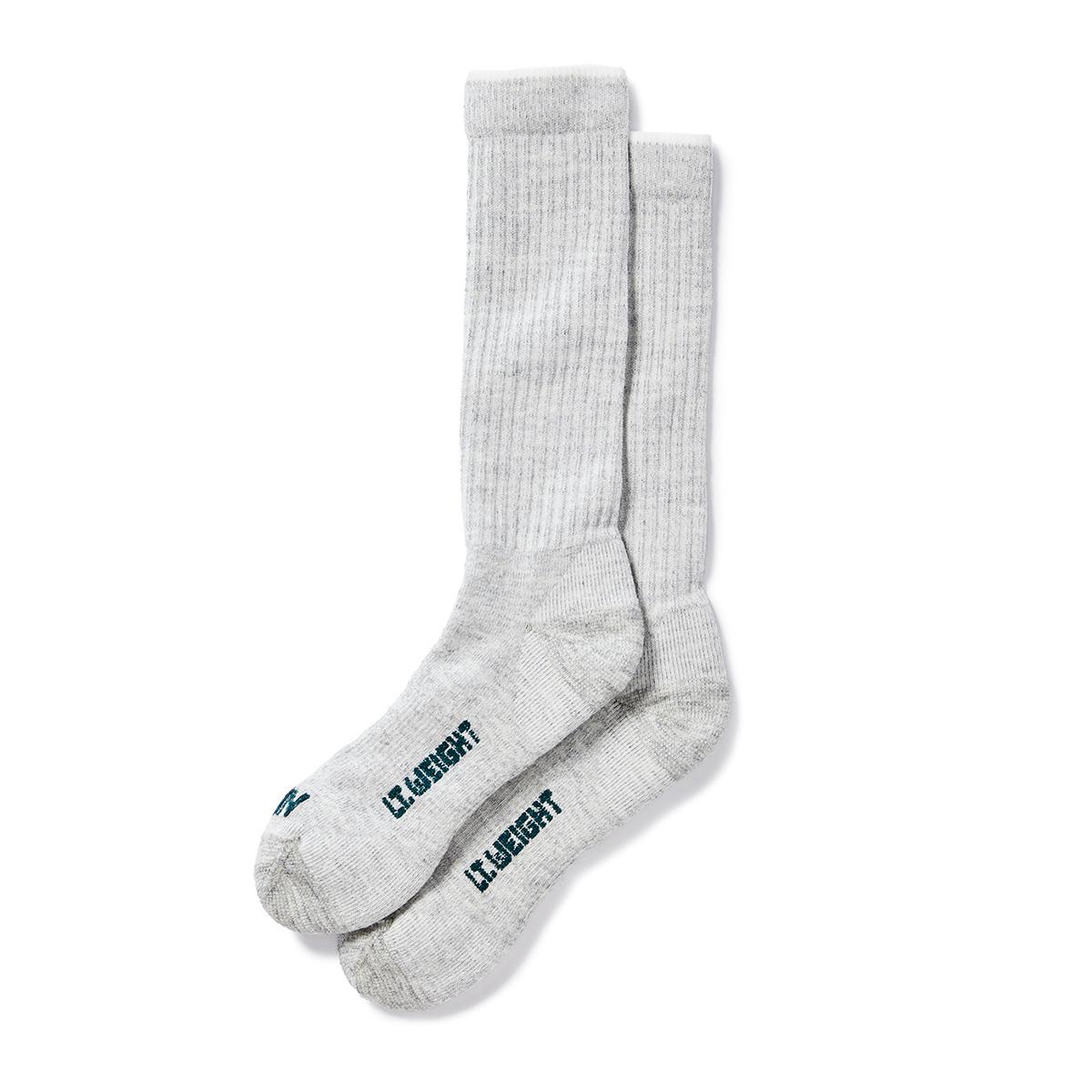 Filson Lightweight Traditional Crew Socks gemaakt van merino wol met een vleugje nylon en spandex