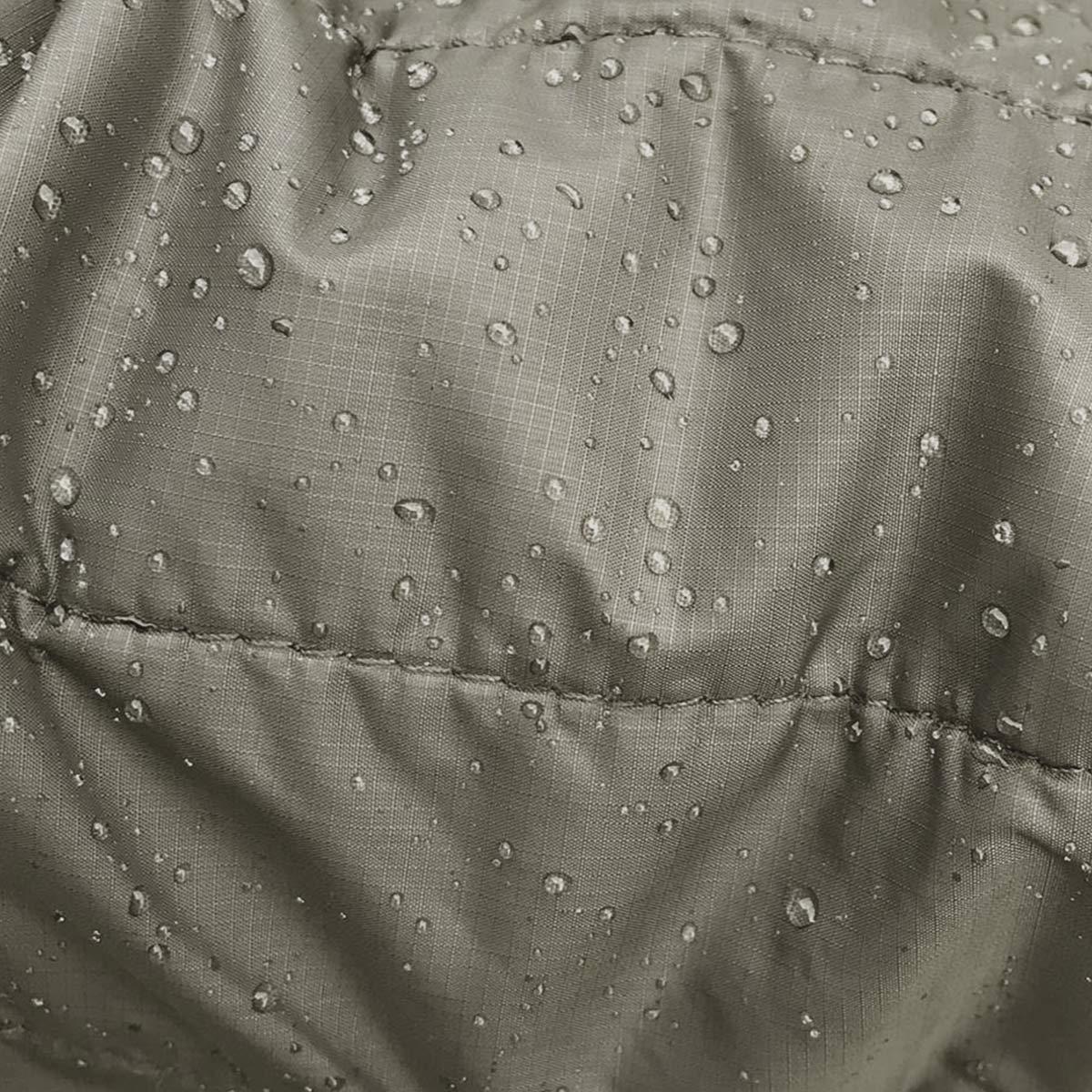 Filson Ultra Light Hooded Jacket Olive Gray, PrimaLoft Gold behoudt 98% van zijn isolerende vermogen als het nat wordt