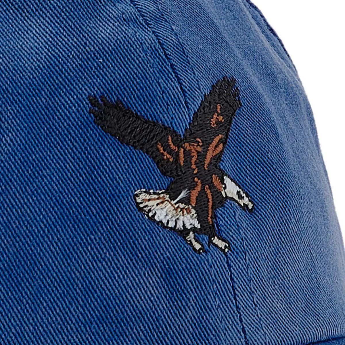 Filson Washed Low Profile Cap 20204530-Bright Blue Eagle, klassieke low-profile pet die beschermt tegen de elementen
