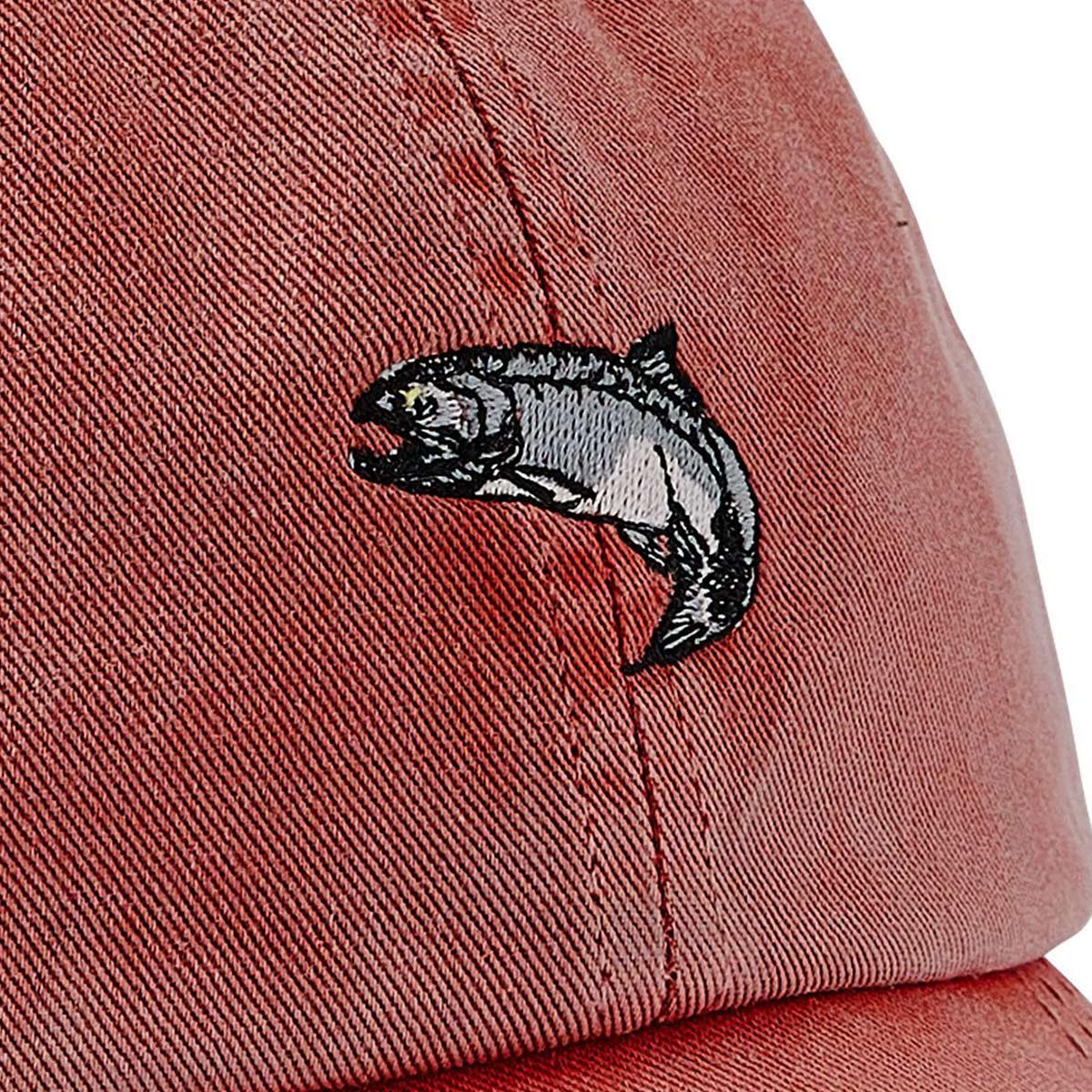 Filson Washed Low Profile Cap 20204530-Faded Red Salmon, klassieke low-profile pet die beschermt tegen de elementen