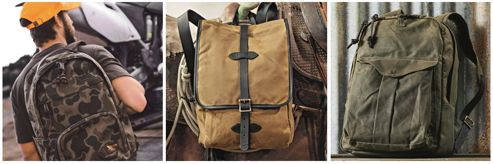Filson Rugzakken en Filson Backpacks Collection