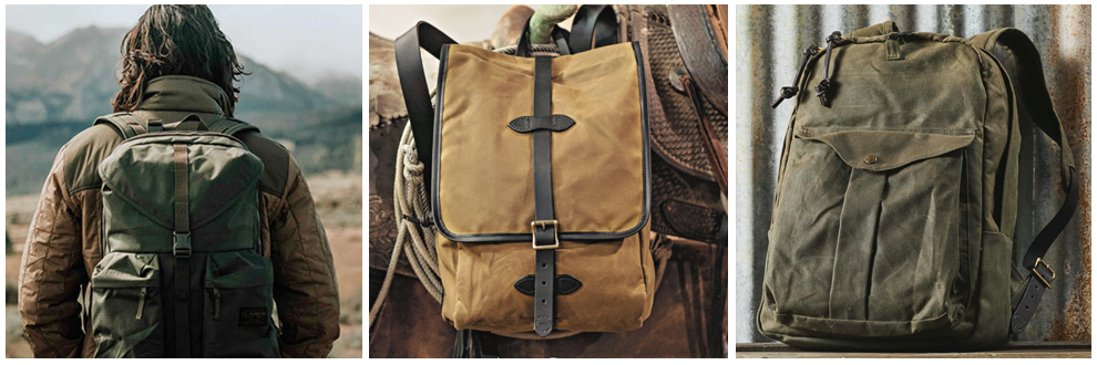 Filson Rugzakken en Filson Backpacks Collection