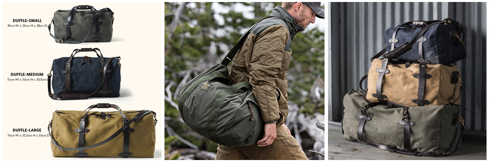 Filson Duffle-Bags Collection