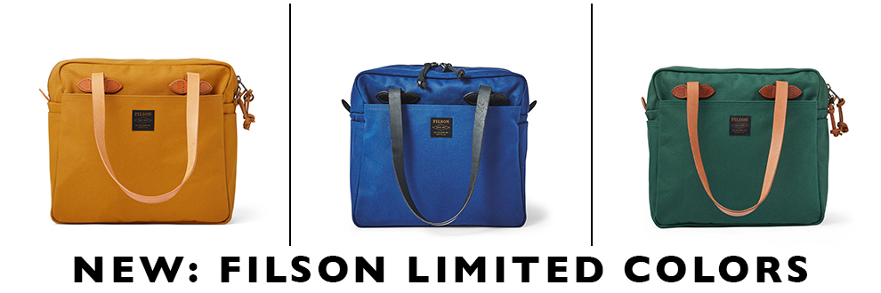 Filson Limited Colors, nu te koop bij BeauBags