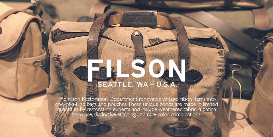 About Filson and the unique restoration department