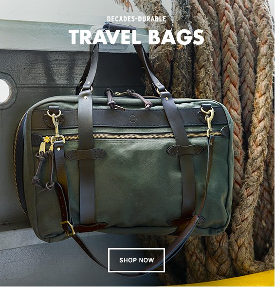 Filson Pullman the ultimate travel partner
