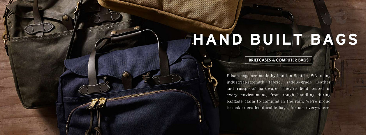 Filson Hand Bilt Bags