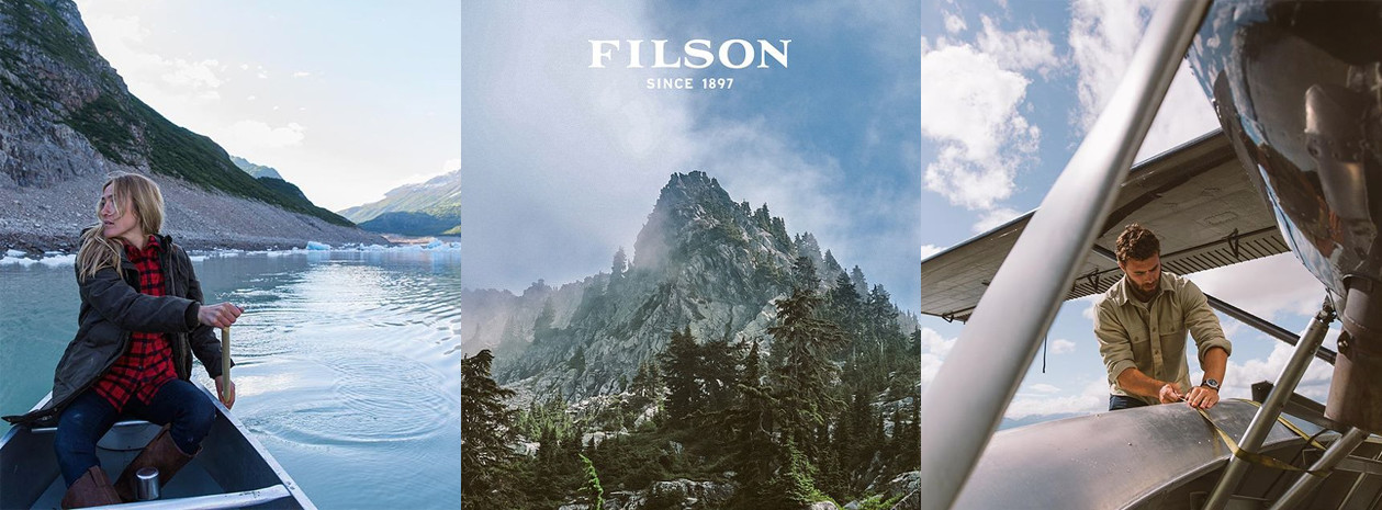 Filson bags for use in all areas of the world