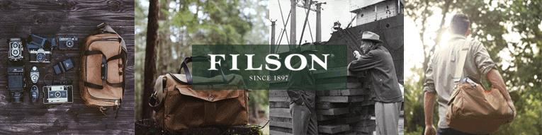 Filson Heritage Sportsman Bag Tan/Otter Green