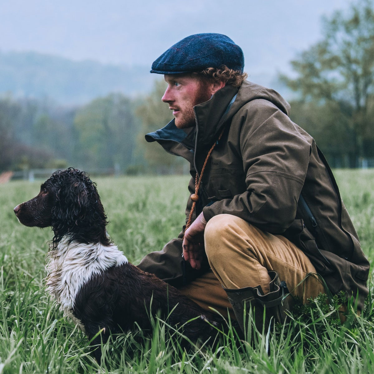 Filson 3-Layer Field Jacket Brown, perfect jacket in any weather conditions