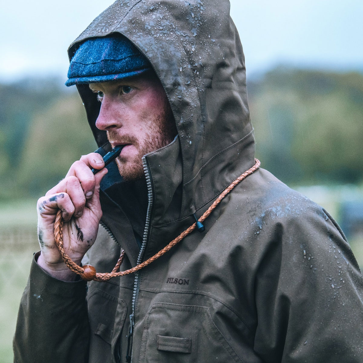 Filson 3-Layer Field Jacket Brown,fully seam-taped three-layer waterproof, breathable jacket, the best of the best
