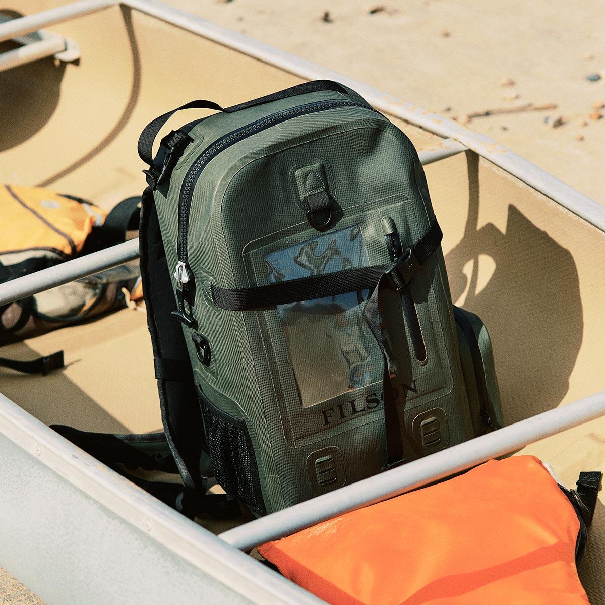 volledig waterdicht en voorzien van comfortabele schouderbanden