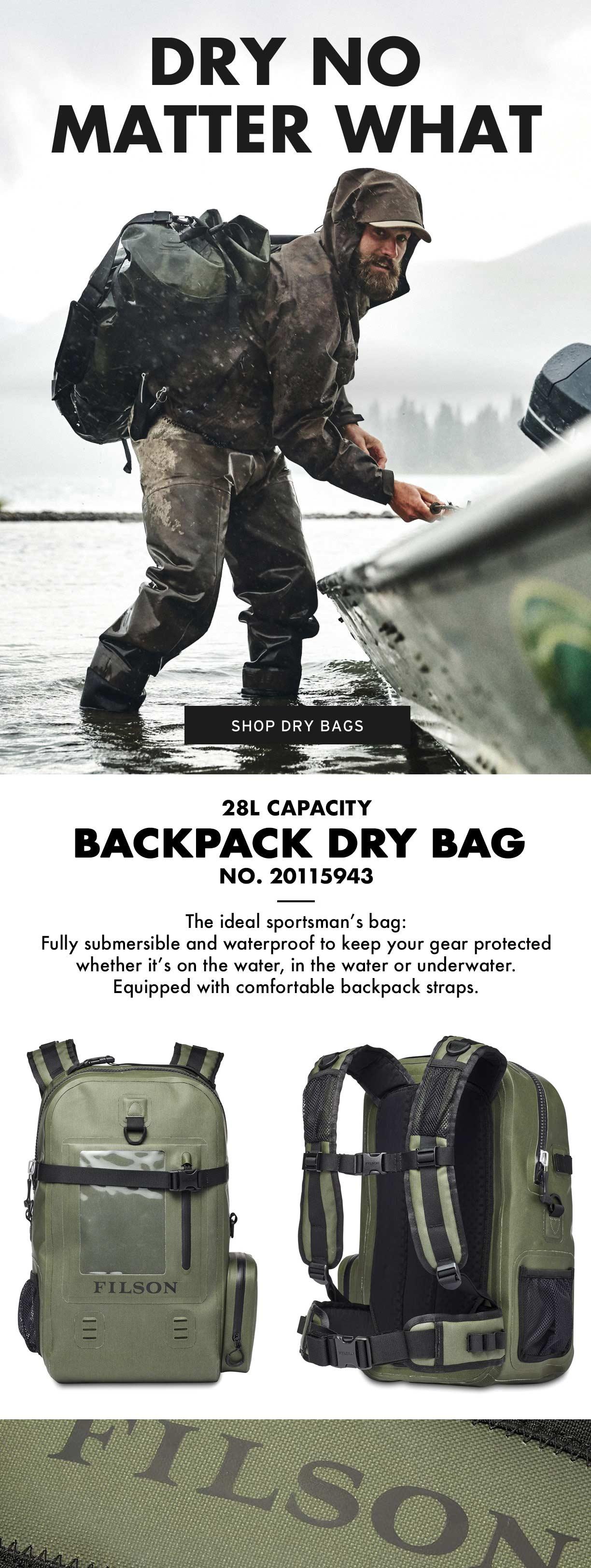 Filson Backpack Dry Bag Productinformation