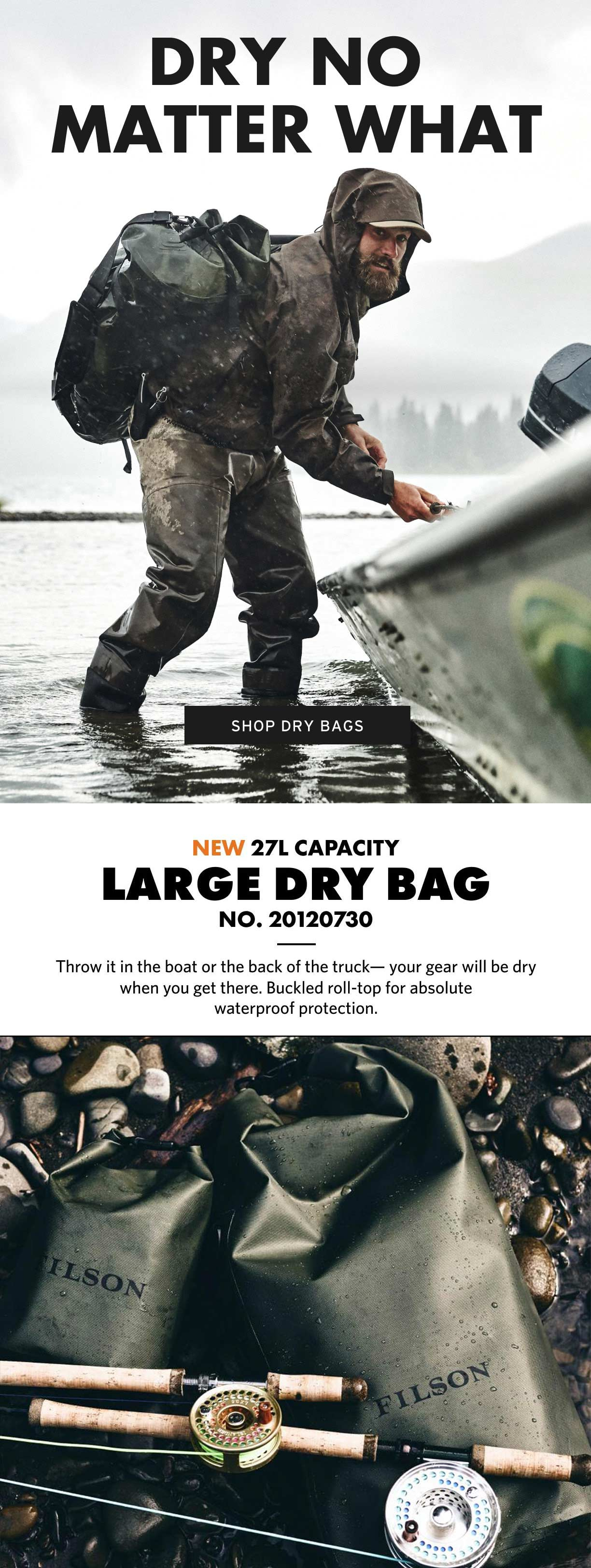 Filson Dry Bag Large Productinformation