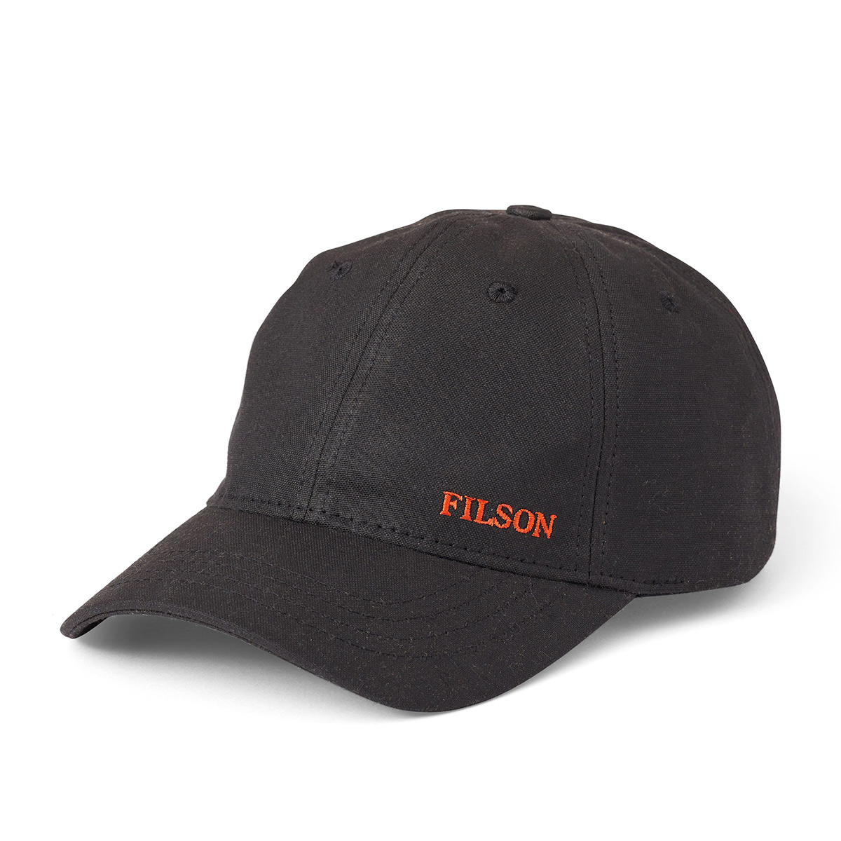 Filson Oil Tin Low-Profile Cap 20172158 Black, to provide years of service