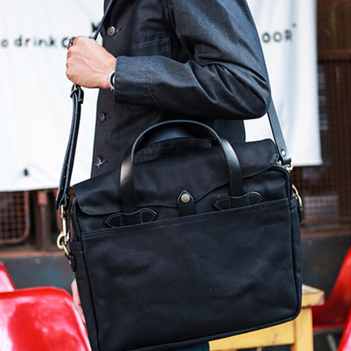 Filson Original Briefcase 11070256 Black streetwear, lifestyle
