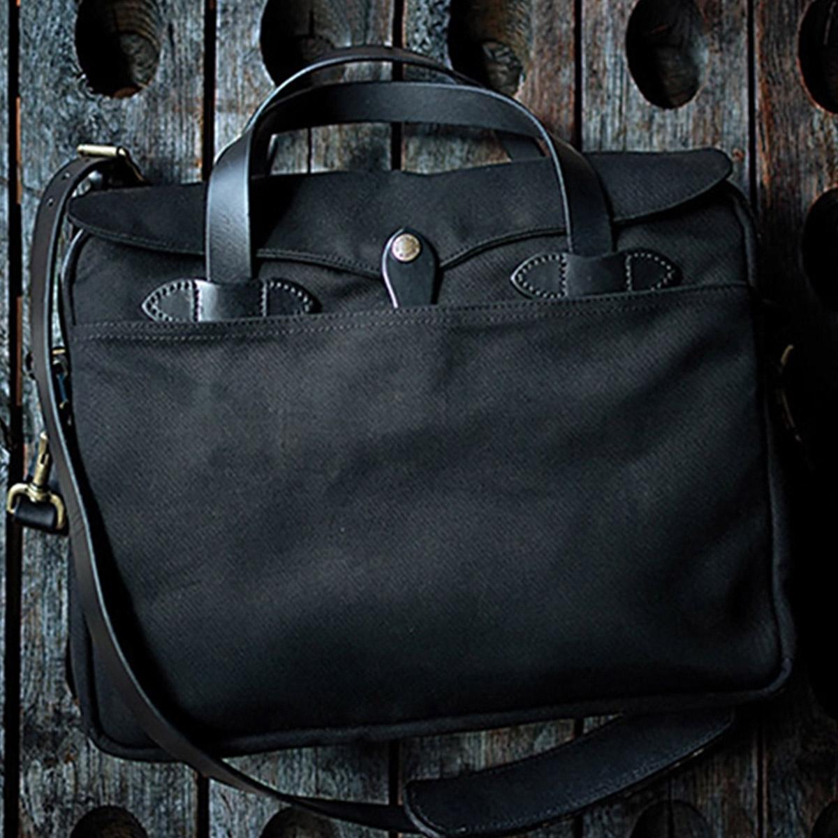 Filson Original Briefcase 11070256 Black extraordinary bag for an ordinary day