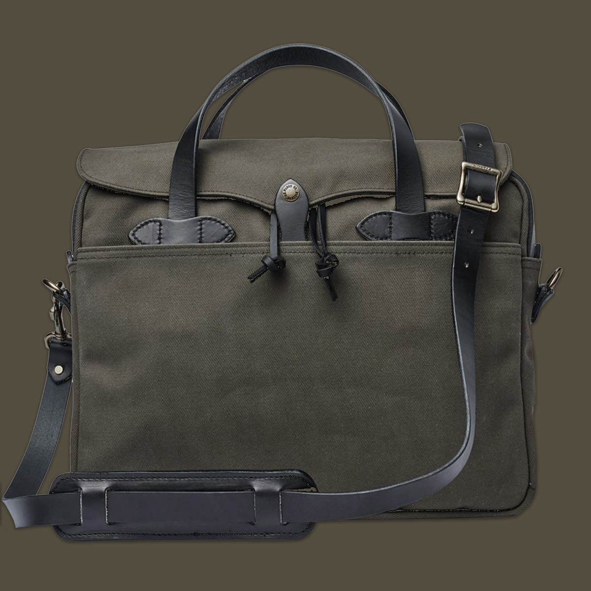 Filson Original Briefcase 11070256 Root, LIMITED COLOR, lifestyle