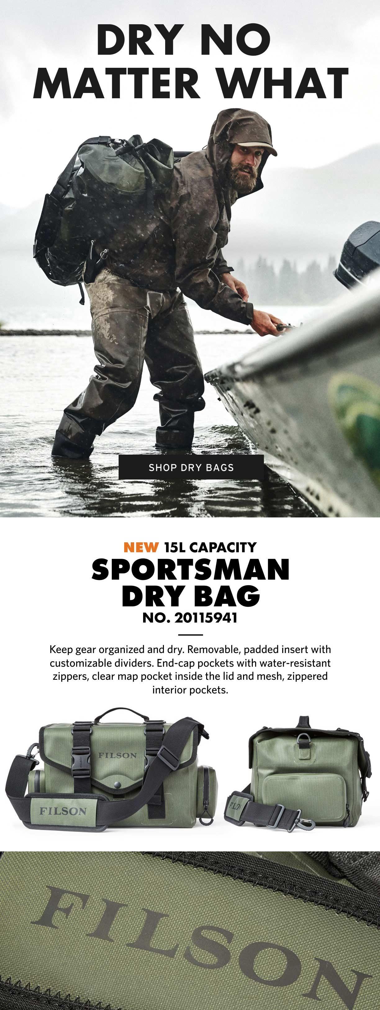 Filson Sportsman Dry Bag Productinformation