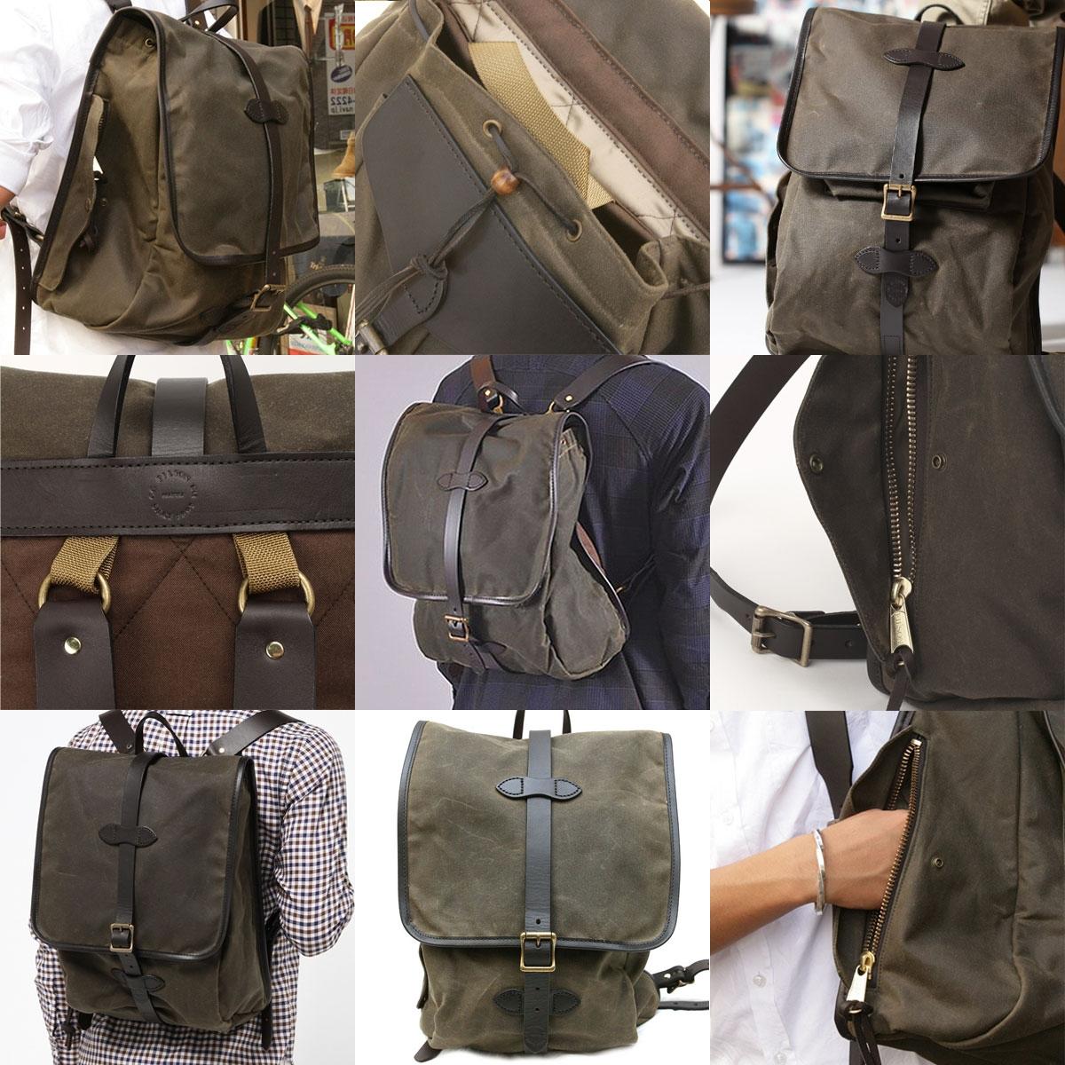 Filson Tin Cloth Backpack Otter Green, stijlvolle rugzak voor iedere trip die jij gaat maken