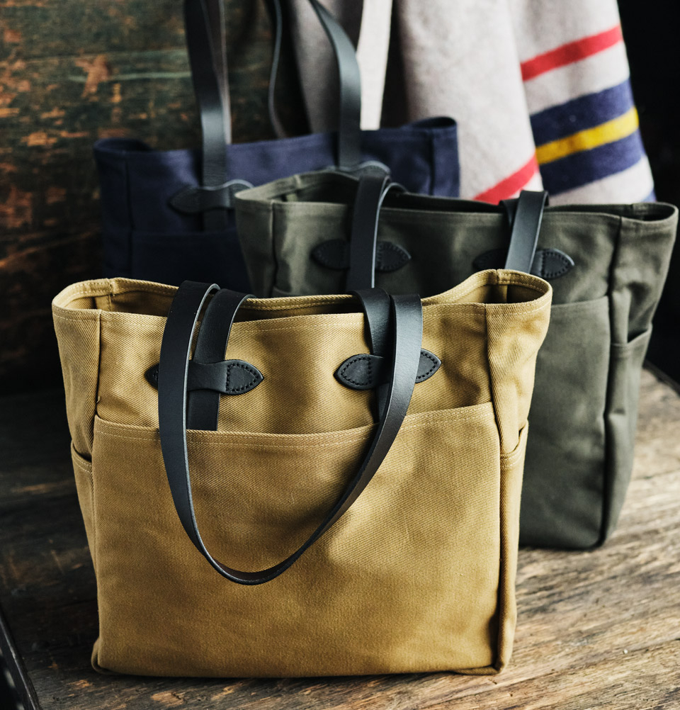 Filson Rugged Twill Tote Bag 11070260-Collection, legendary Tote Bag for on the go