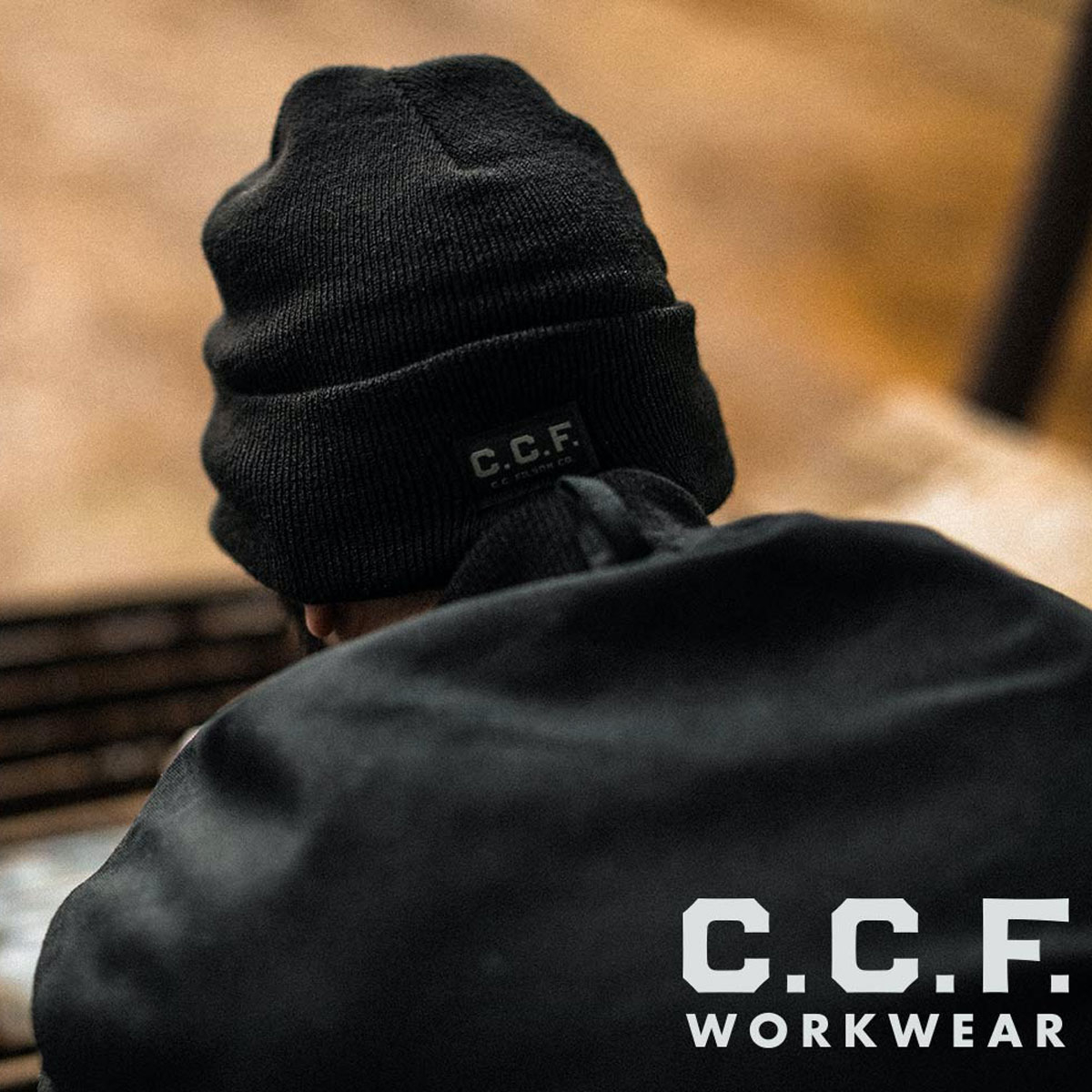 Filson C.C.F. Watch Cap Beanie Black, keeps your head and ears warm