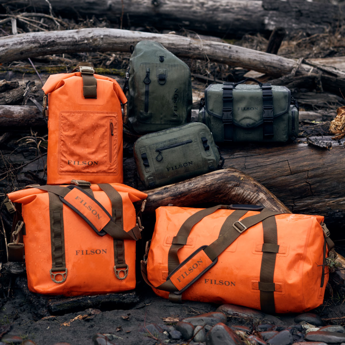 Filson Dry Bags Collection