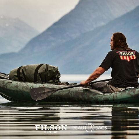 Filson Dry Duffle Bag Large, voor gebruik in alle weersomstandigheden