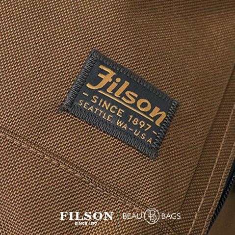 Filson Ballistic Nylon Dryden Briefcase Whiskey