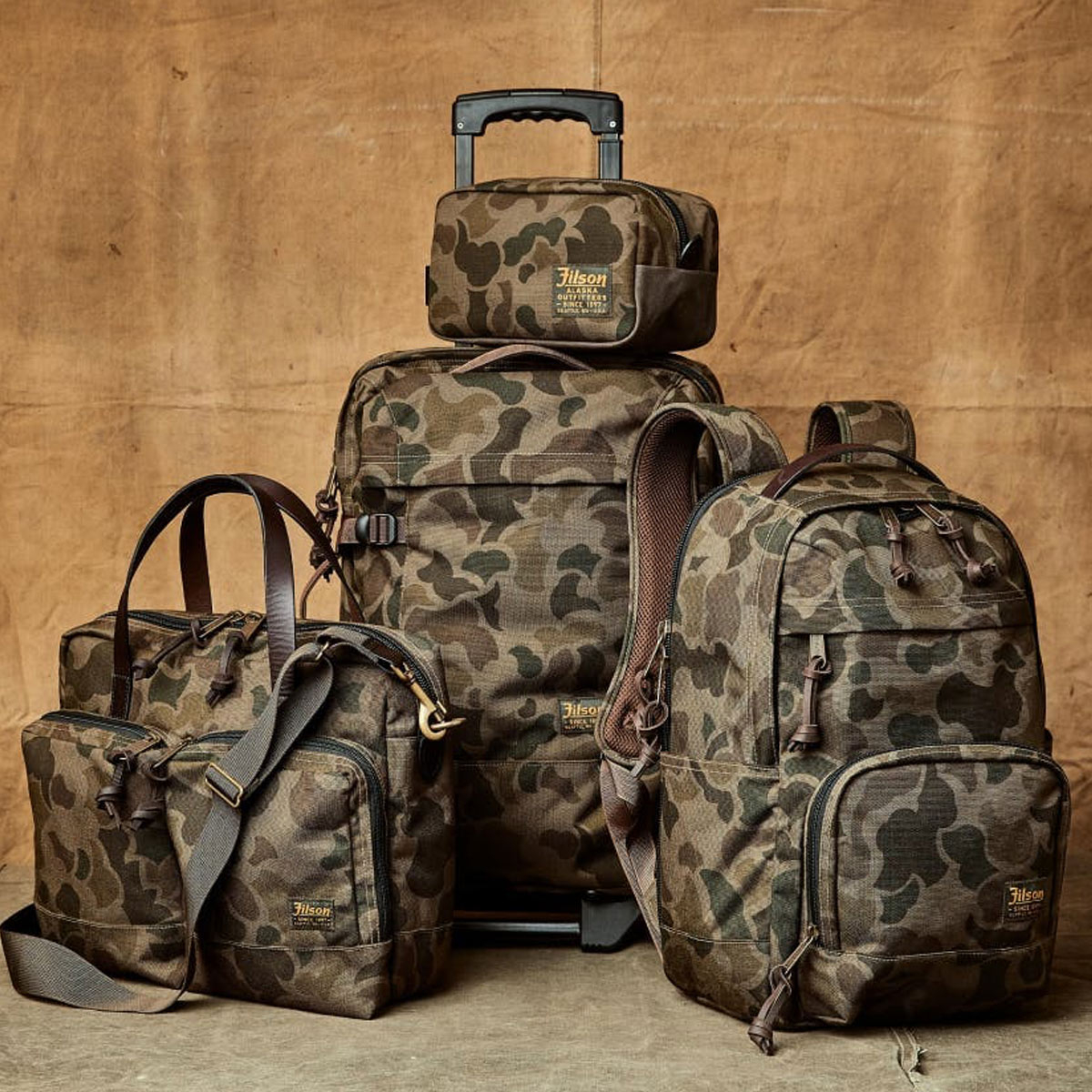 Filson Dryden Briefcase Dark Shrub Camo Collectie