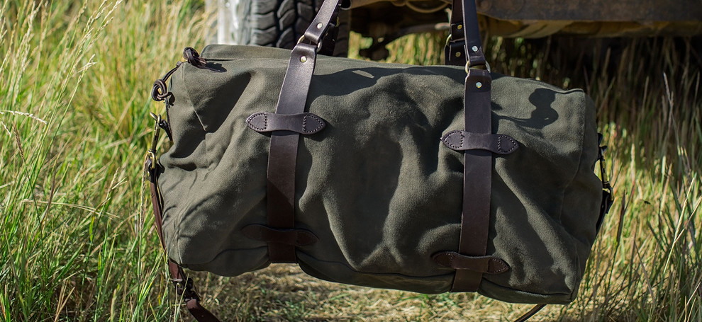 Filson Duffle medium Otter Green, perfect travel partner