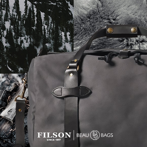 Filson Duffle Medium Cinder