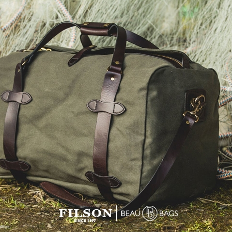 Duffle Bag Medium 11070325 Otter Green, lifestyle picture